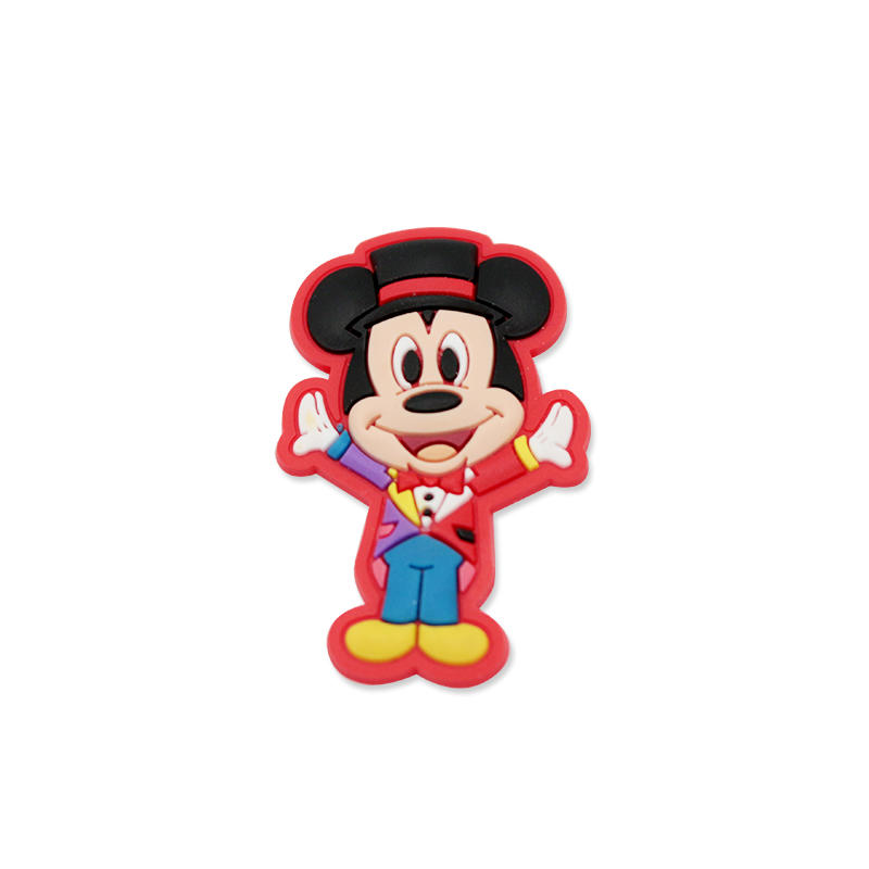 Custom PVC Cartoon Wall Decor Foam Glue Sticker For House