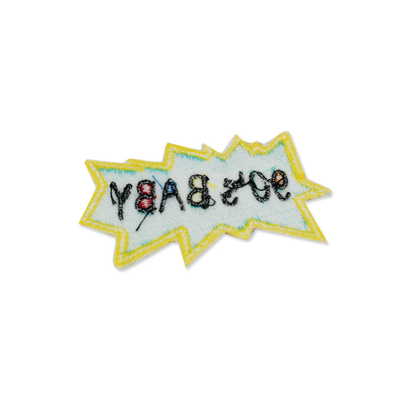 Customized Colorful Best-selling Letter Embroidery Patch For Clothing