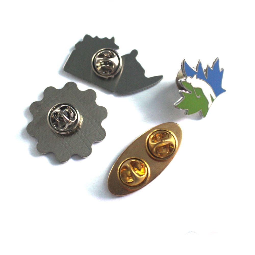 Customized Logo Zinc Alloy Metal Pin Badge for Sports