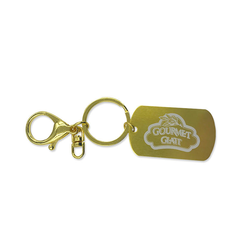 Hot Sell Metal Badge Pendant Keychain Promotional Gift