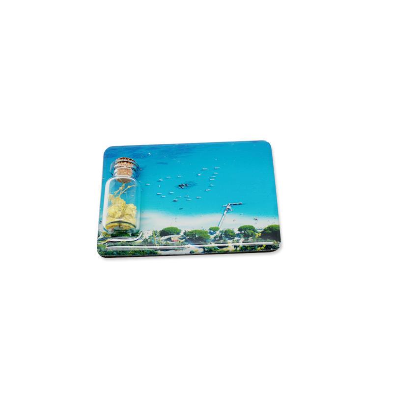 New Arrival Tourist Souvenir Drift Bottle Fridge Magnet for Promotion Gift