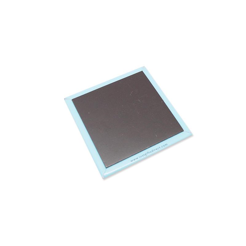 Custom Cheap Full Logo Printed Square Shape Paper Fridge Magnet
