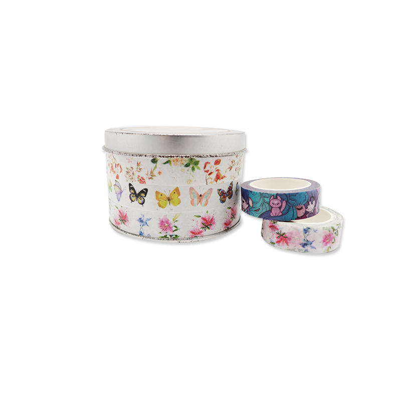 High Quality Customized Patterns Decorative Waterproof Adhesive Washi Tape