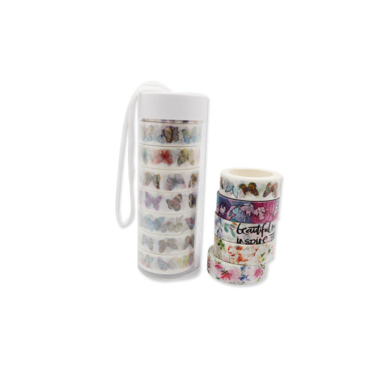 Cartoon Decorative custom printed washi tape for DIY Crafts and Gift Wrapping