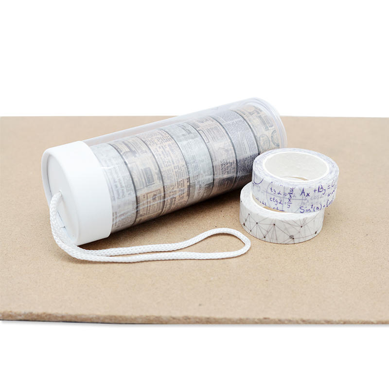 Custom Print Adhesive Label Sticker Roll Washi Tape for gift