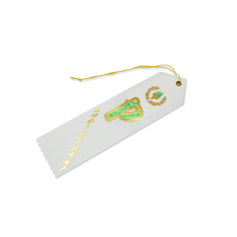 Factory Manufacture High Quality Satin Ribbon Award Ribbon for Sport