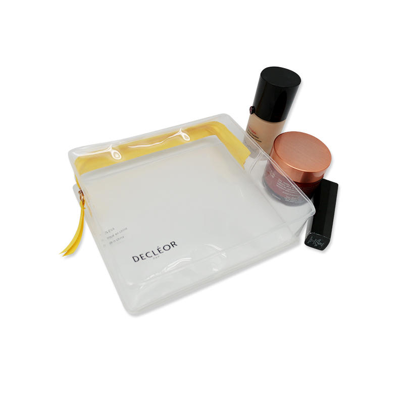 Portable Transparent Makeup Pouch women Cosmetic Bag for Travel