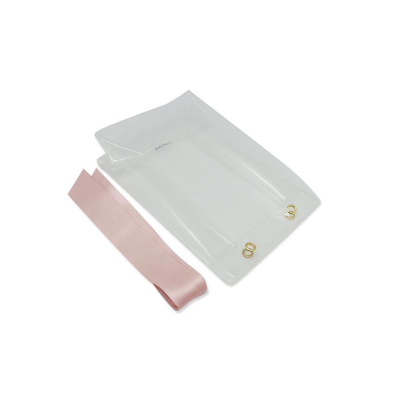 Custom Women Casual Handbag PVC Clear Makeup Bag for travel