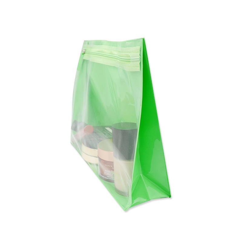 Custom PVC Cosmetic Bag Waterproof Zipper Handbag for Women