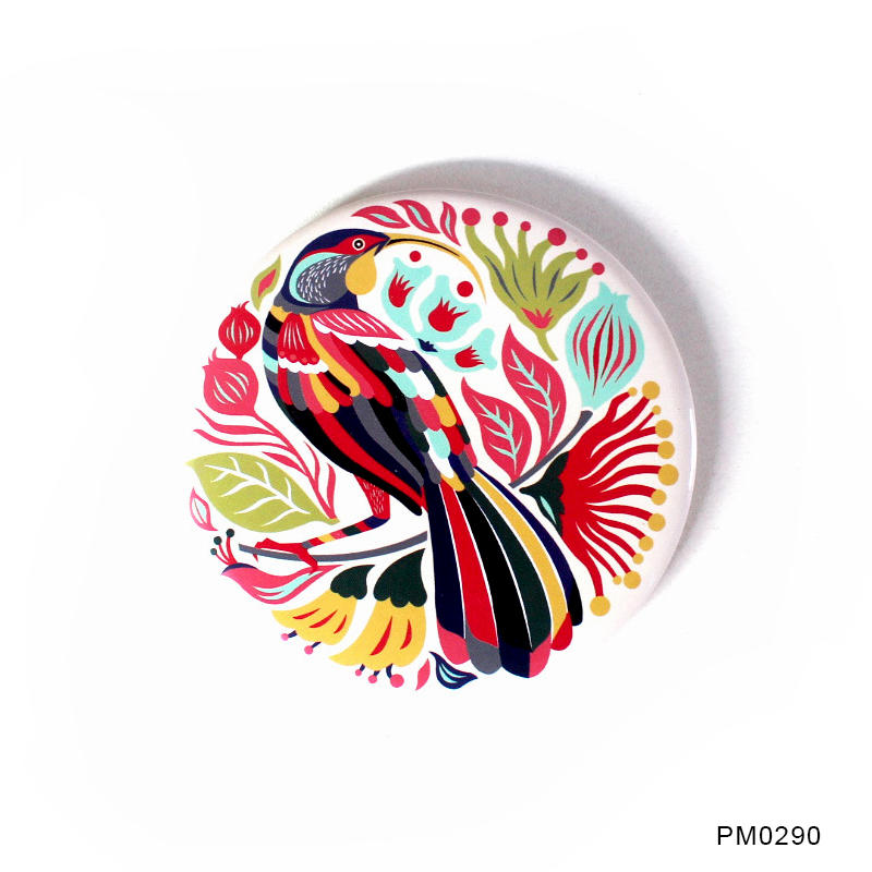 China mirror factory Round Shape Mirror with Logo Promotional Gift