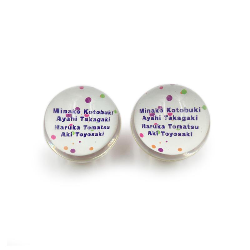 Custom Wholesale Cheap Round Shape OEM Printing Clear Bouncy Ball