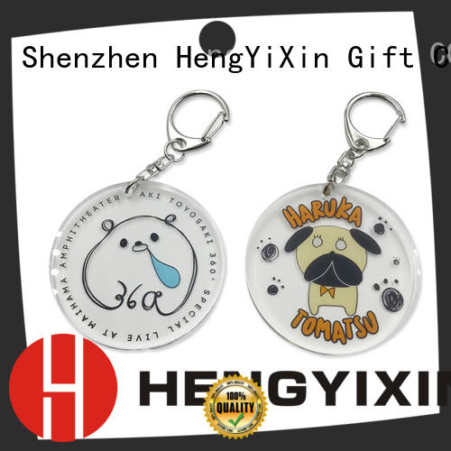women acrylic standee factory for gift HengYiXin