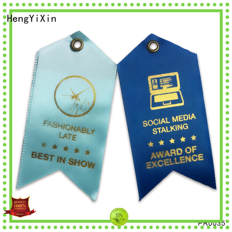 sedex first place ribbon award for competition HengYiXin