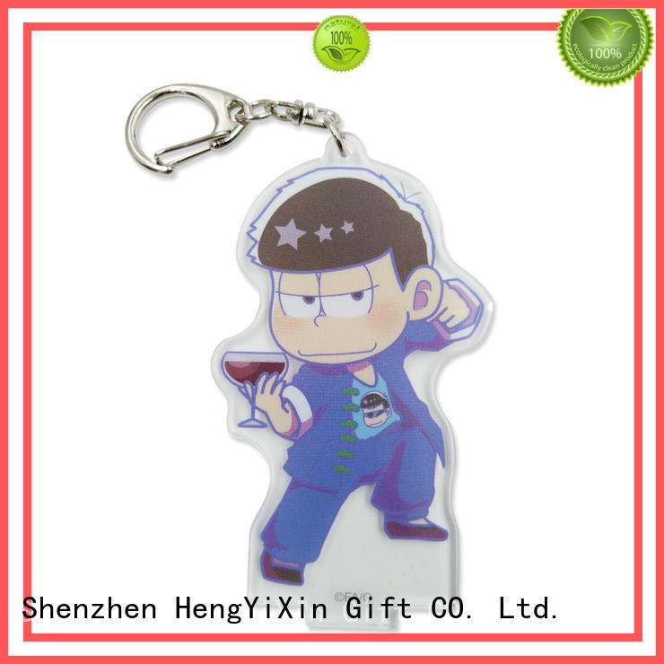 keyring anime figure keychains factory for children HengYiXin