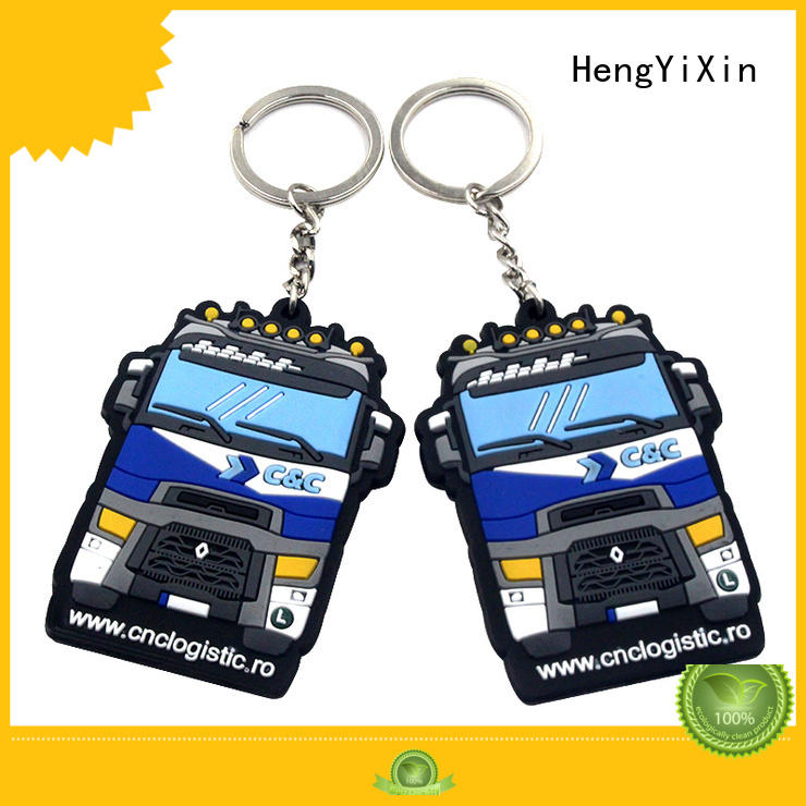 HengYiXin holder custom pvc keychains supplier for kids