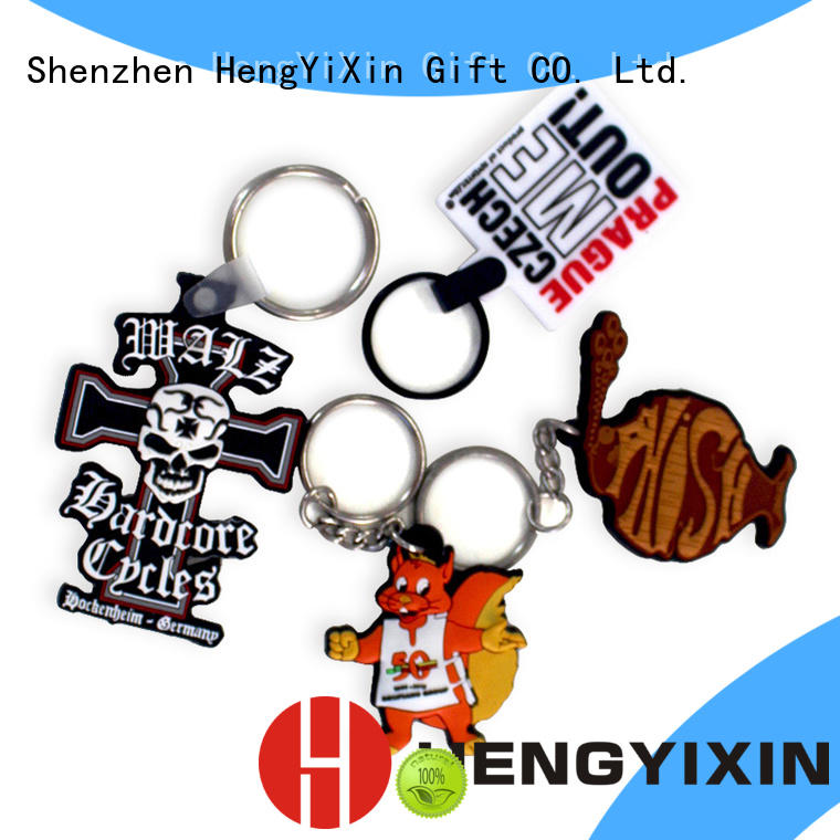 ring pvc keychain series for students