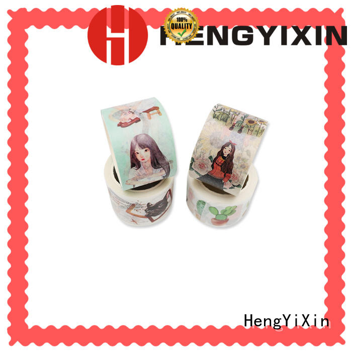 custom make washi tape roll HengYiXin