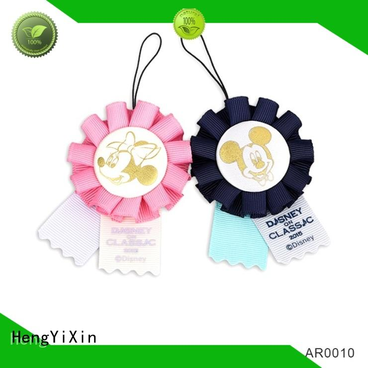 pink rosette award series for party HengYiXin
