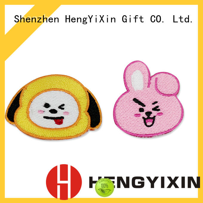 colorful custom patches personalized for girl HengYiXin