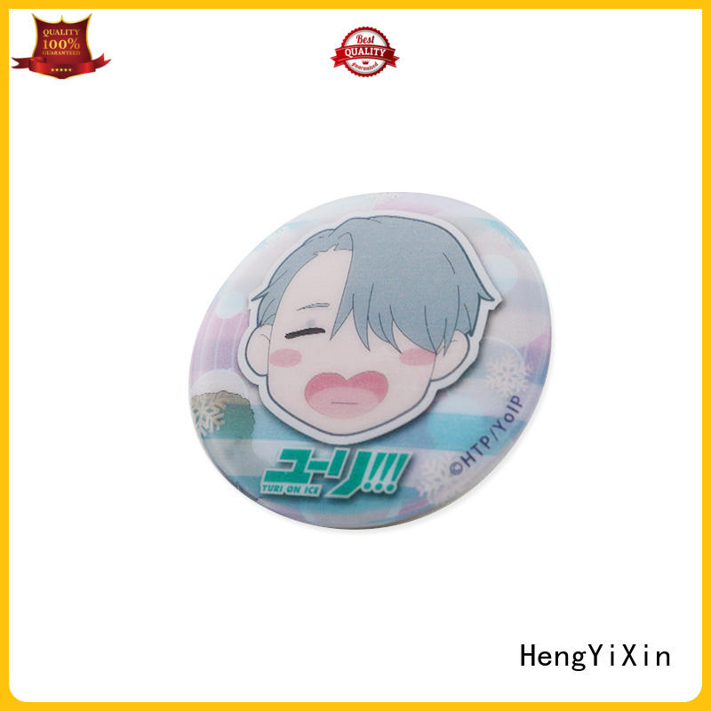cloth smiley badges factory for gift