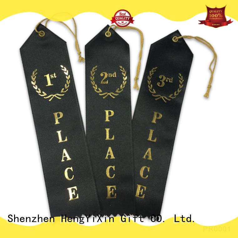HengYiXin award award ribbon supplier for racing