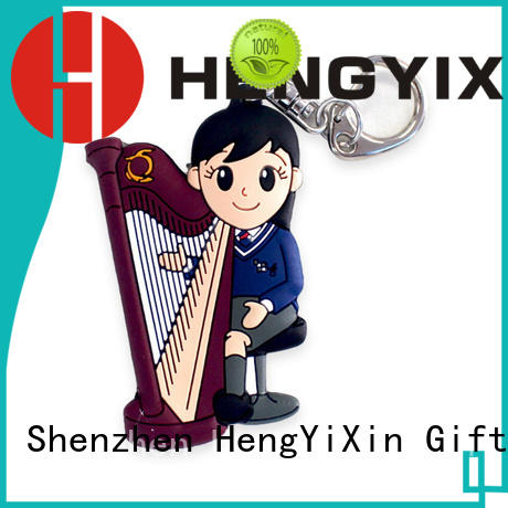 animate soft pvc keychain tag for gifts HengYiXin
