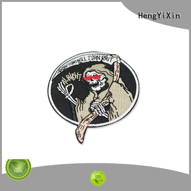 HengYiXin on custom patches series for gift