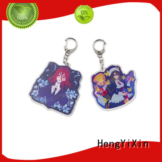 HengYiXin anime cute keychains factory for souvenir
