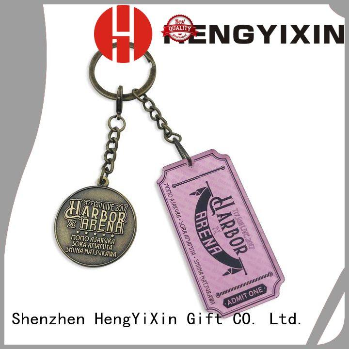 cute keychains charm for gift HengYiXin