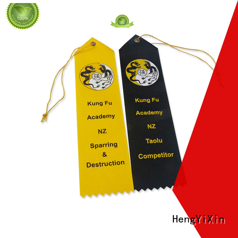 HengYiXin conte award ribbons design for show