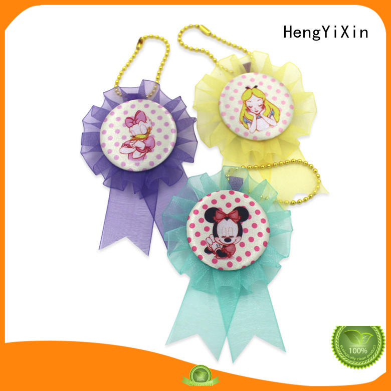 badge participation ribbon supplier for ceremony HengYiXin