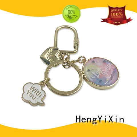 imitation metal badge manufacturer for sports HengYiXin