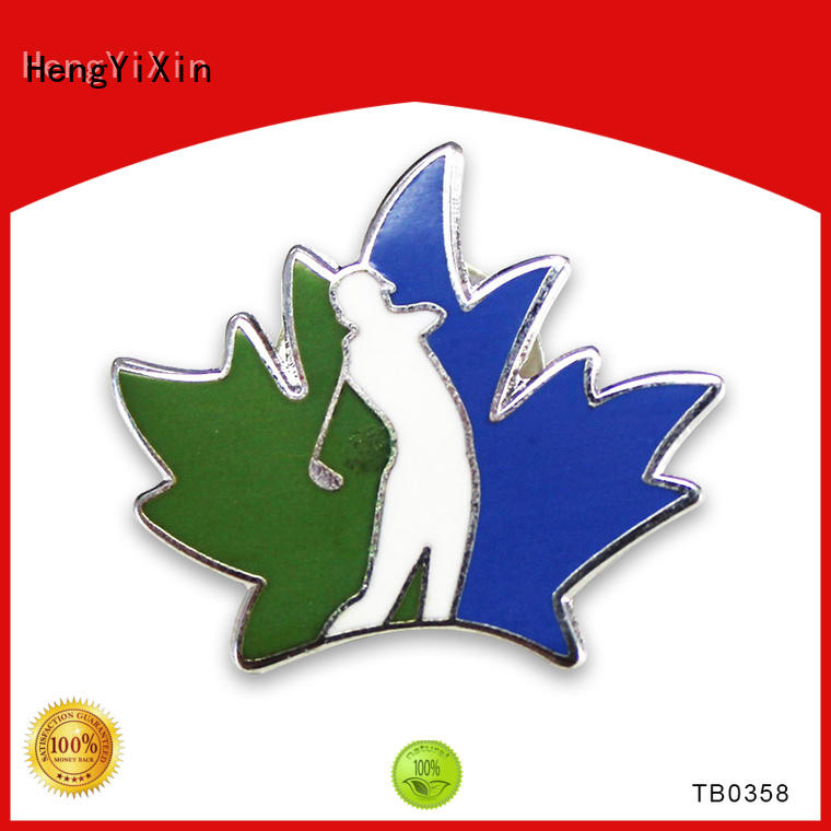 HengYiXin enamel custom metal badges wholesale for birthday